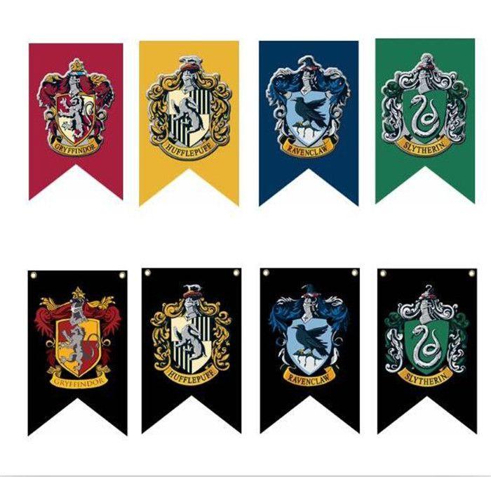 75125cm Harry Potter Gryffindor Hufflepuff Slytherin Ravenclaw Flag
