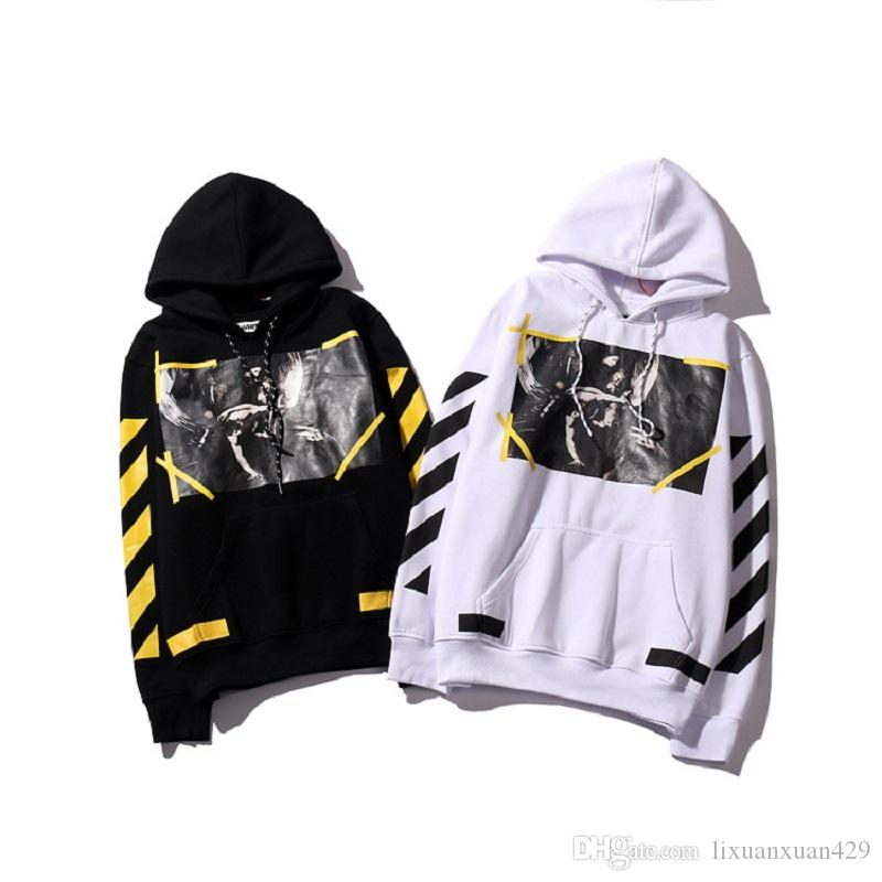2017 Real Hight Quality Off White Hoodie Brand With The Off White ...