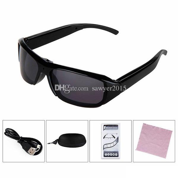 FULL HD 1080P Sunglasses Camera MINI Glasses DVR Portable Sunglasses Pinhole Camera Camcorder Video Recorder Mini Sunglasses Camera