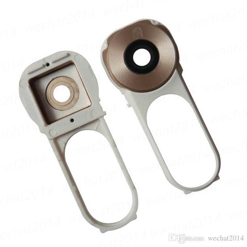Back Camera Lens Cover With Plastic Rear Cam Frame Holder