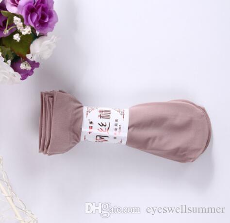 Calze da donna in nylon sottile con lacci donna. Morbida pelle traspirante traspirante trasparente calzamaglia elastica femminile