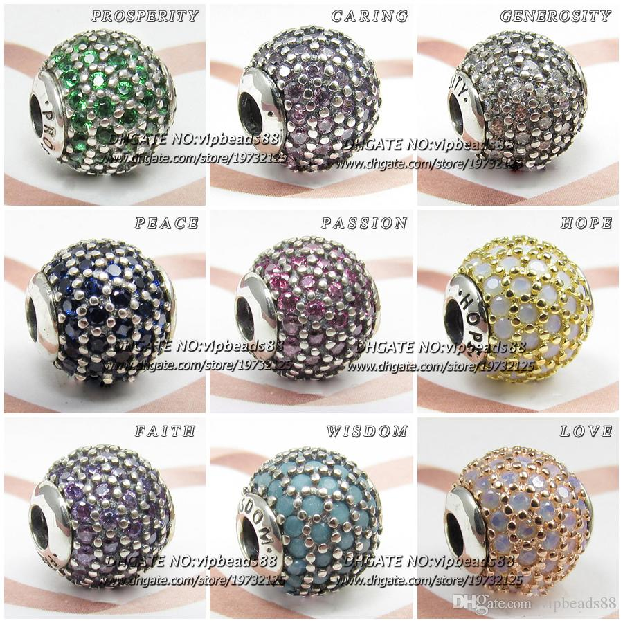 charm bead pandora essence