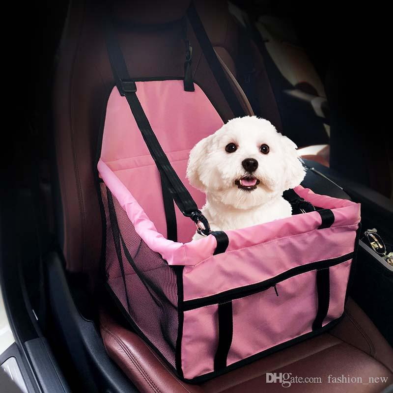 Pet Carrier Dog Car Seat Pad Safe Carry House Cat Puppy Bag Car Travel Accessories Waterproof Dog Bag Basket Pet Products Dog Supplies
