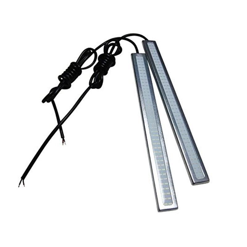Eletrônica de consumo Branco Luz Brilhante 12 V À Prova D 'Água COB Car LED Nevoeiro Condução Freio Da Lâmpada M00059 VPRD