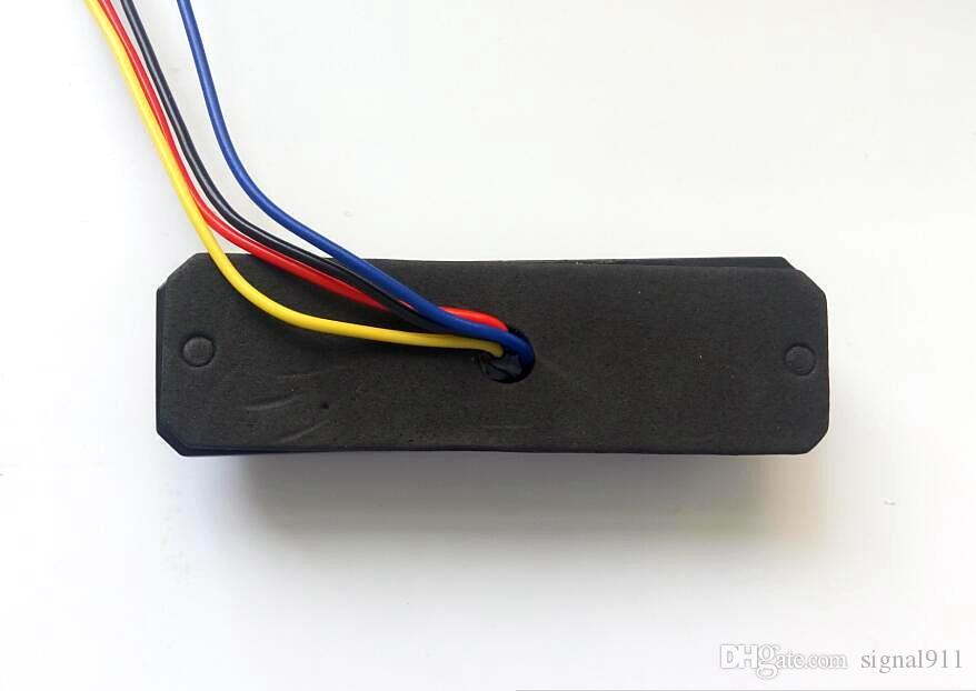 4 * 3W Spie auto, luci di emergenza griglie, luci di emergenza a led, luce di segnalazione, 23flash, impermeabili