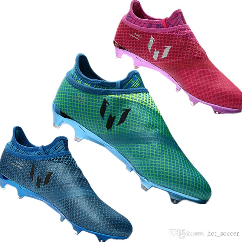 Messi Exclusive!!Football Shoes Men s Soccer Boots Mens Cleats ... 6b44095677525