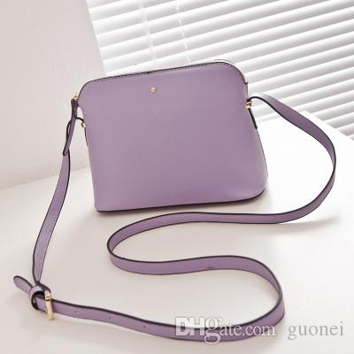 Brand designer Vintage Women Handbags Fashion Shell Bags Small Leather Bag Casual Women's Cross-body Shoulder Bags Designer Women Messenger