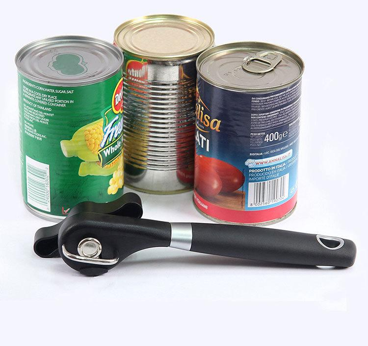 New Arrvial Cans Opener Professional Ergonomic Manual Can Openers Side Cut Manual Safety Can Opener Easy Clean
