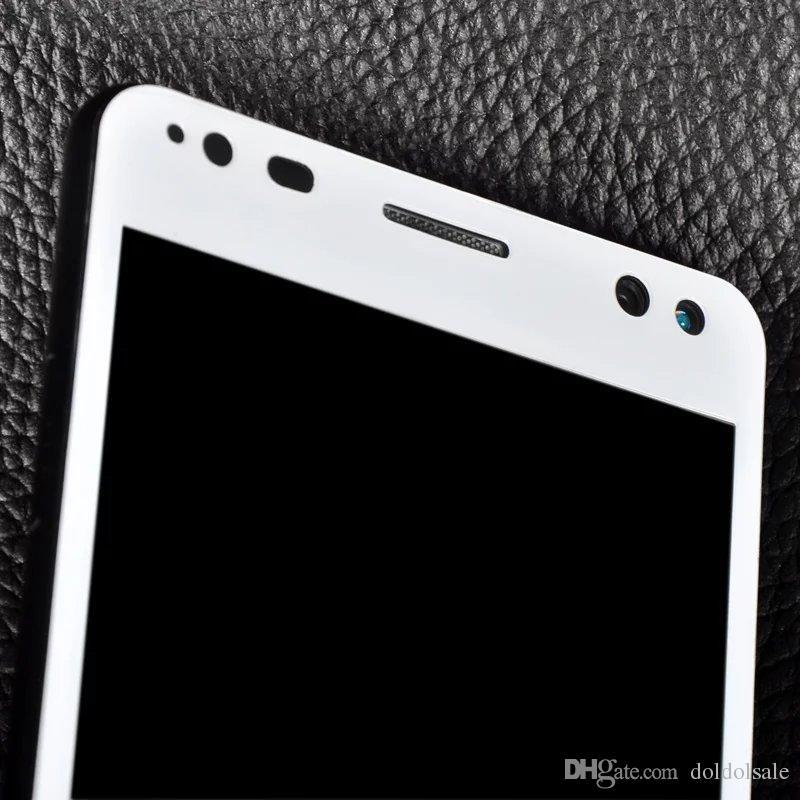 Full Cover Displayschutzfolie aus gehärtetem Glas für HP Elite X3 + Reinigungstücher Schutzfolie No Retail Box