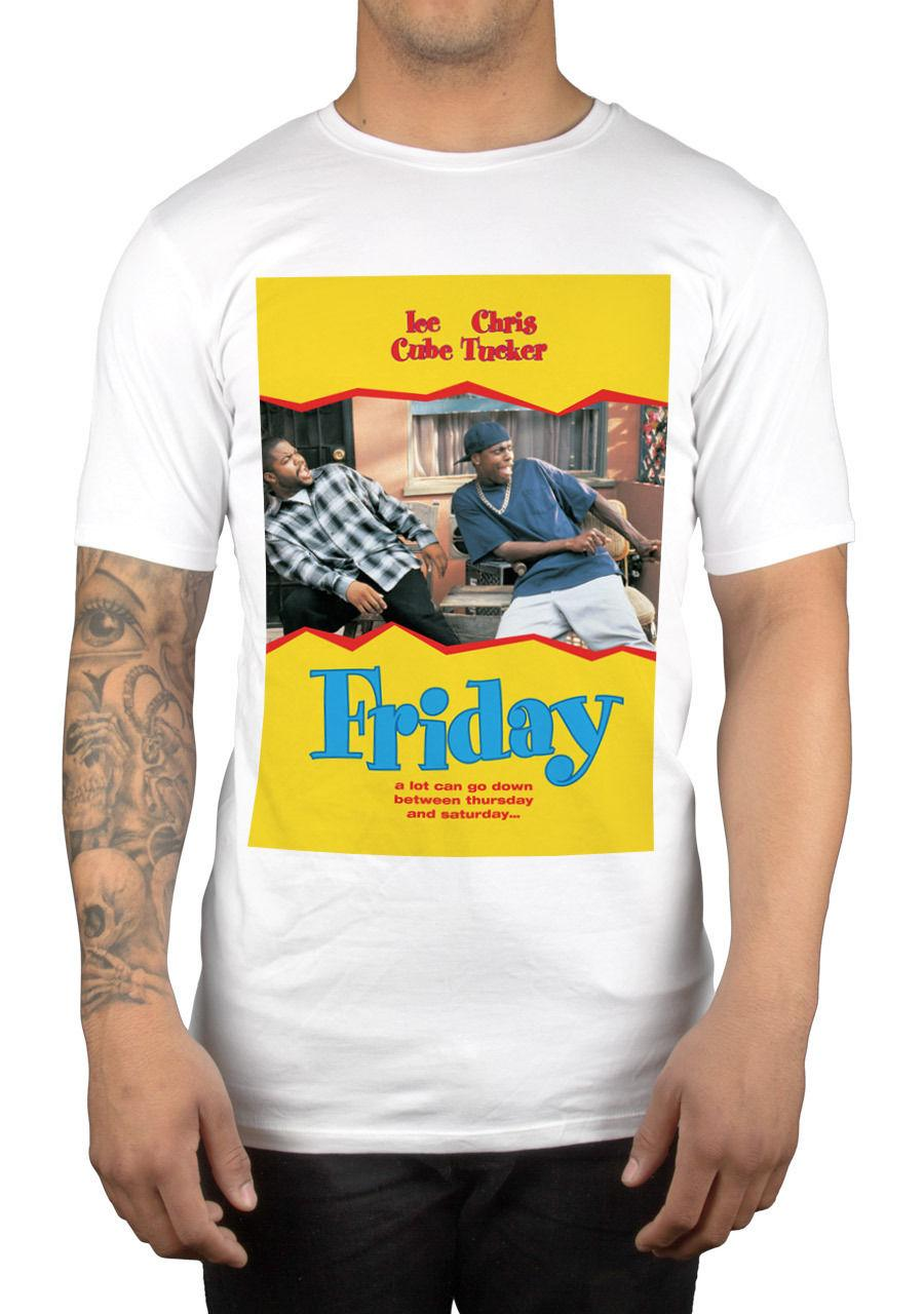 b22beeb9a T Shirt Brand 2017 Male Short Sleeve Friday Movie Graphic T Shirt Ice Cube  Chris Tucker Smokey Deebo Big Worm Gift Awesome Shirts Cool T Shirts For  Men From ...
