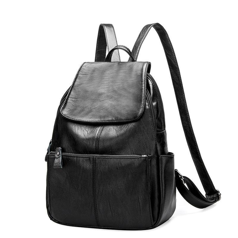 Designer Women s Backpacks Genuine Leather Female Backpack Women ... 5fc6adcb2b
