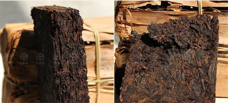 250g Ripe Puer Yunnan 20 anni antico albero Puer organico Pu'er albero più antico cotto naturale Puer Puerh del mattone nero Puerh