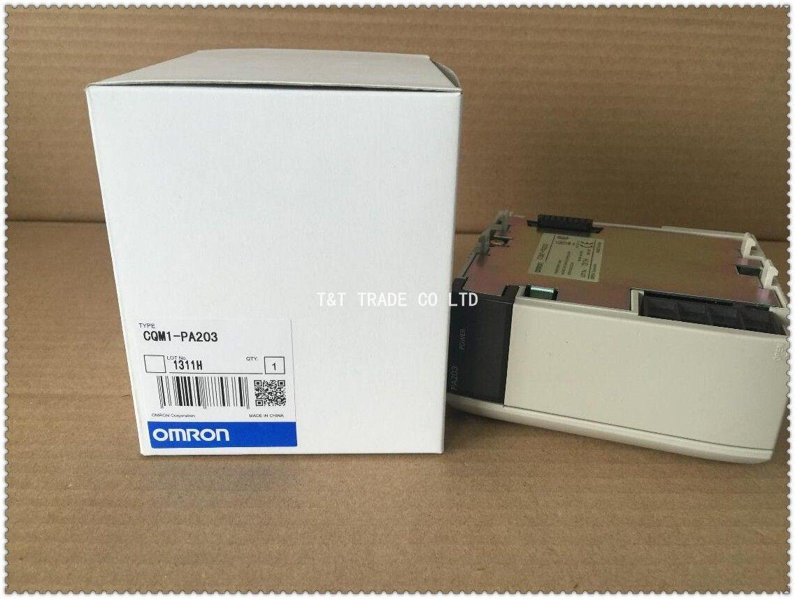Блок питания CQM1-PA203 Omron PLC Новый и оригинальный один год гарантии