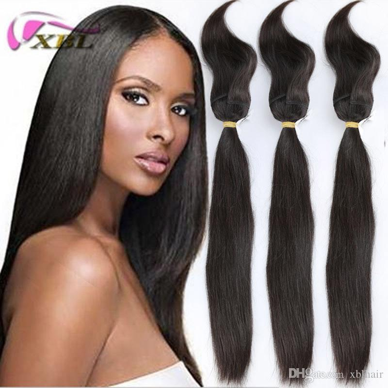 Virgin Human Hair Braid In Bundles 100 Human Hair Malaysian Human