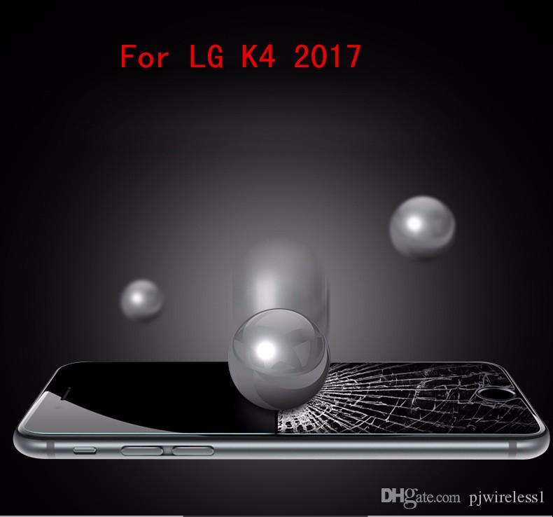 For LG Fortune Phoenix 3 For LG V1 K4 2017 Tempered Glass Screen Protector  Film with retail package