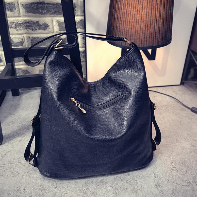 Uggage Backpacks FUNMARDI Multi Function Leather Women Bags Luxury Backpacks  Hobos Designer Shoulder Bag Fashion Ladies Leather Bags WLH. 5065bc202c336
