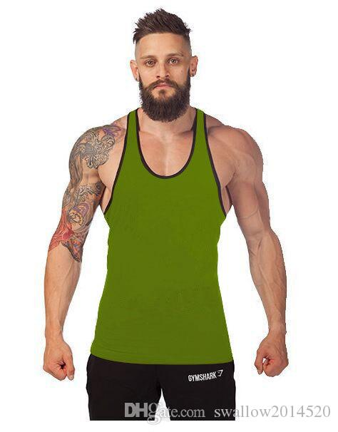 es Gym Singlets Camisetas sin mangas para hombre Bodybuilding Equipment Fitness para hombres Golds Gym Stringer Tank Top Sports
