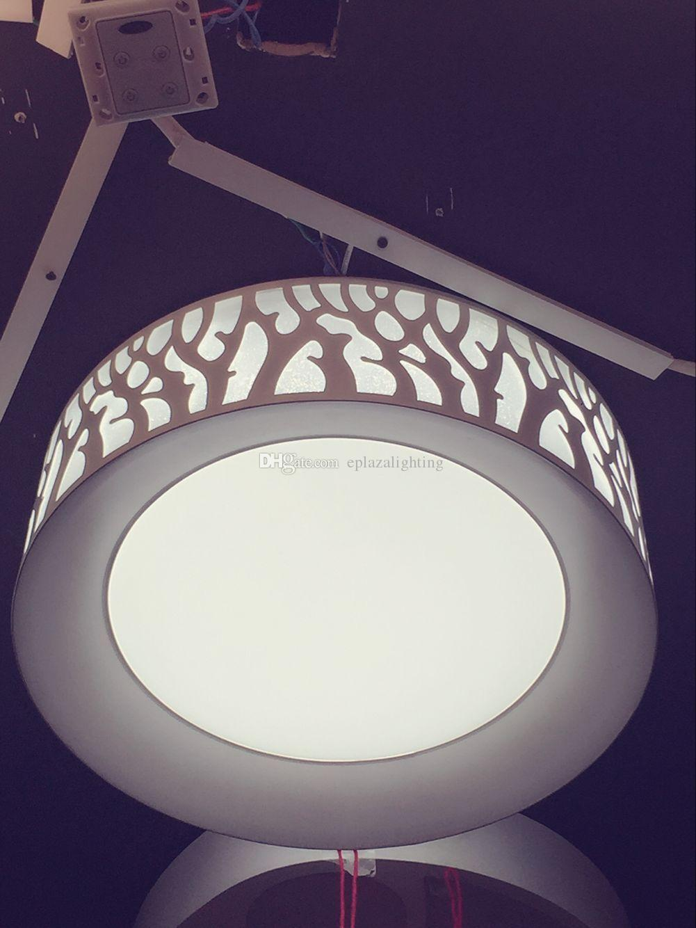 2017 Ceiling Lights220v Led Patch Circular Forest Tree Lamp Living Room Dining Bedroom From Eplazalighting 14071