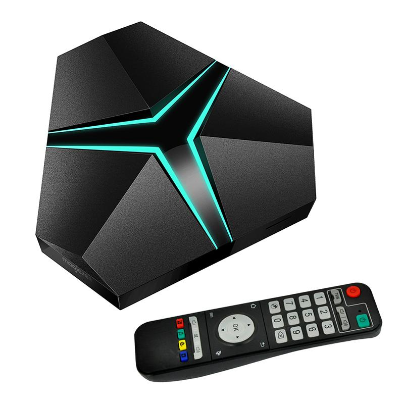 Magicsee Iron+ Amlogic S912 Octa Core 3G 32G Android 6.0 TV Box 2.4G/5.8G Wifi suppot OTA Update Lan 1000M BT4.1 Media Player 4K