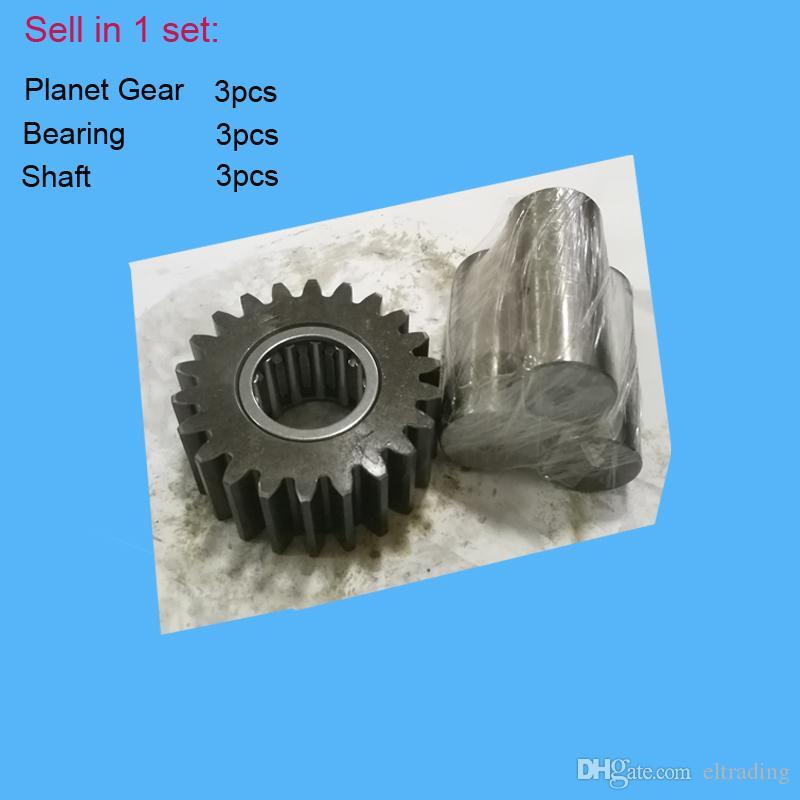 Komatsu Excavator PC100-6 PC120-6 PC128UU-1 PC128US-1 PC128UU-2 Planetary  Gear 203-26-61180, Bearing 203-26-61270, Shaft for Swing Reducer