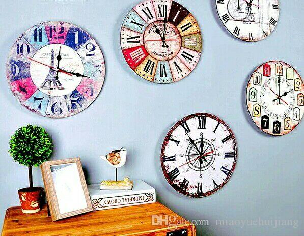Frozen Large Decorative Wall Clocks Modern Design Silent Living Room Wall  Clock Wall Watches Home Decor Orologio Parete Wall Clocks Small Wall Clocks  To Buy ...
