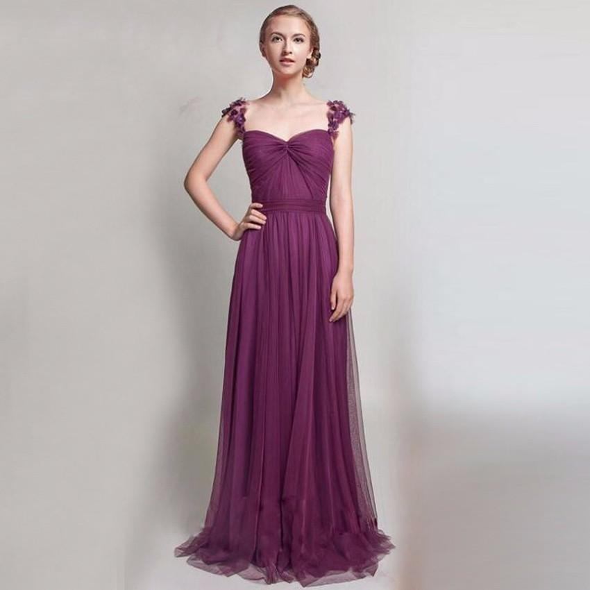 Prom Dresses 2017 Pink Blue Lavender Plum Colors Cap Sleeve Cheap ...