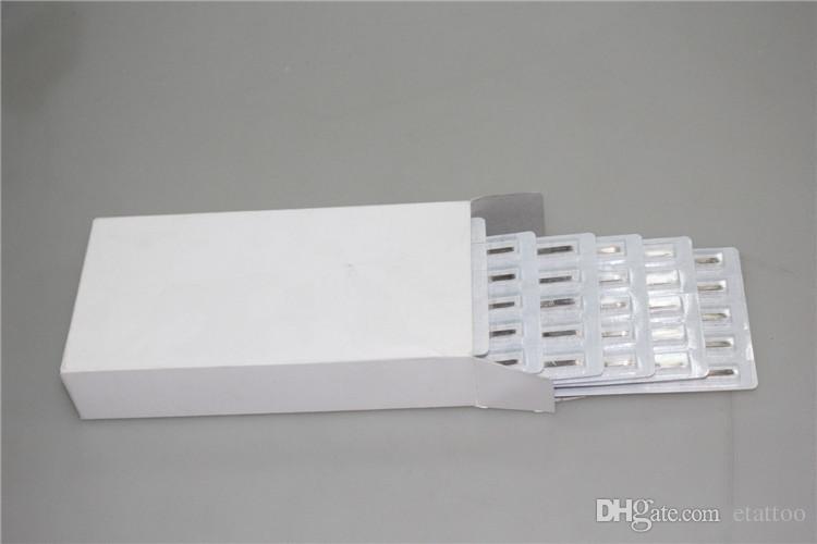 Tätowierungs-Nadeln 11F + 11FT mit Tätowierungs-Rohren mischten sterile Tätowierungs-Nadeln und Wegwerfspitzen jede Größe für freies Verschiffen