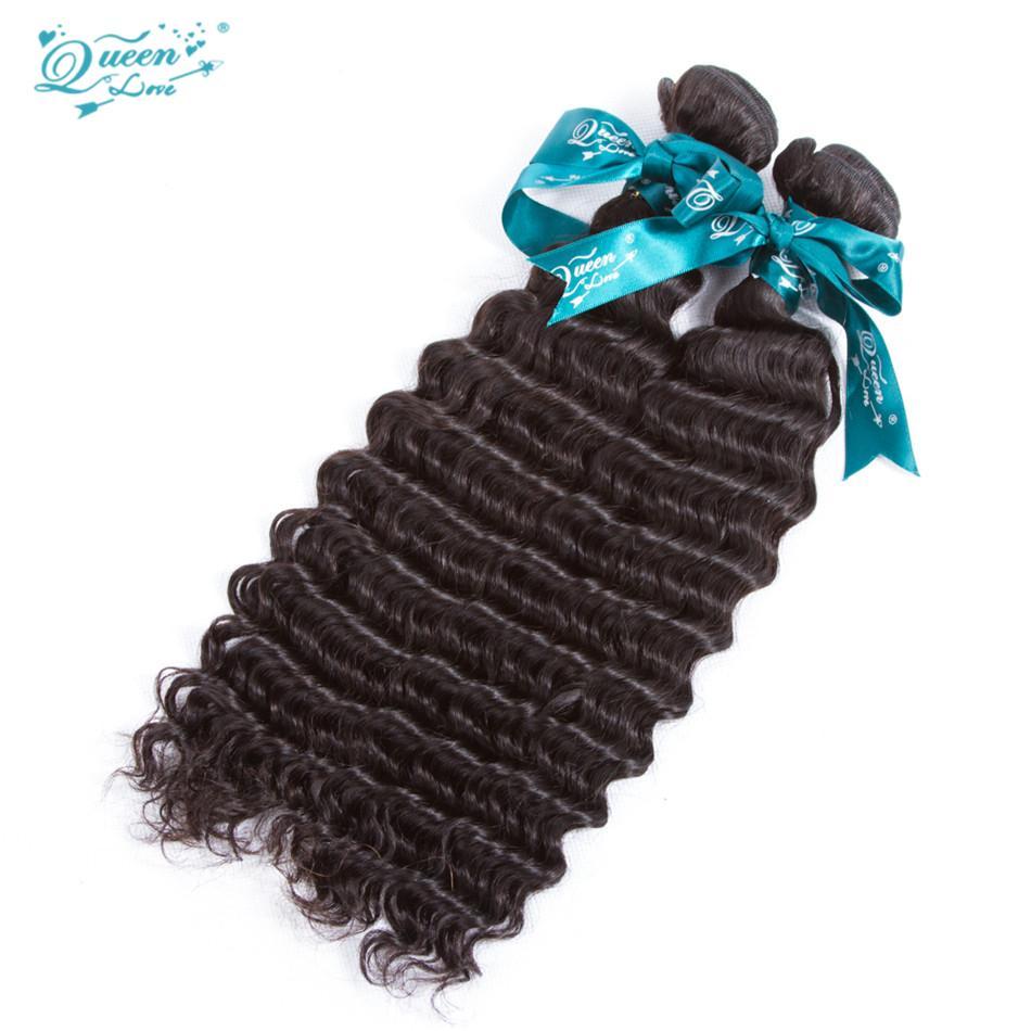 Лучшие продажи необработанные перуанские Виргинские глубокие вьющиеся 1bundles человеческих волос ткать девственные перуанские глубокие вьющиеся волосы естественный цвет