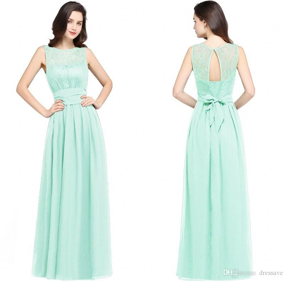 2018 burgundy navy blue mint chiffon bridesmaid dresses beach 2018 burgundy navy blue mint chiffon bridesmaid dresses beach weddings a line empire waist sheer cheap evening prom gowns cps616 turkish evening dresses ombrellifo Image collections