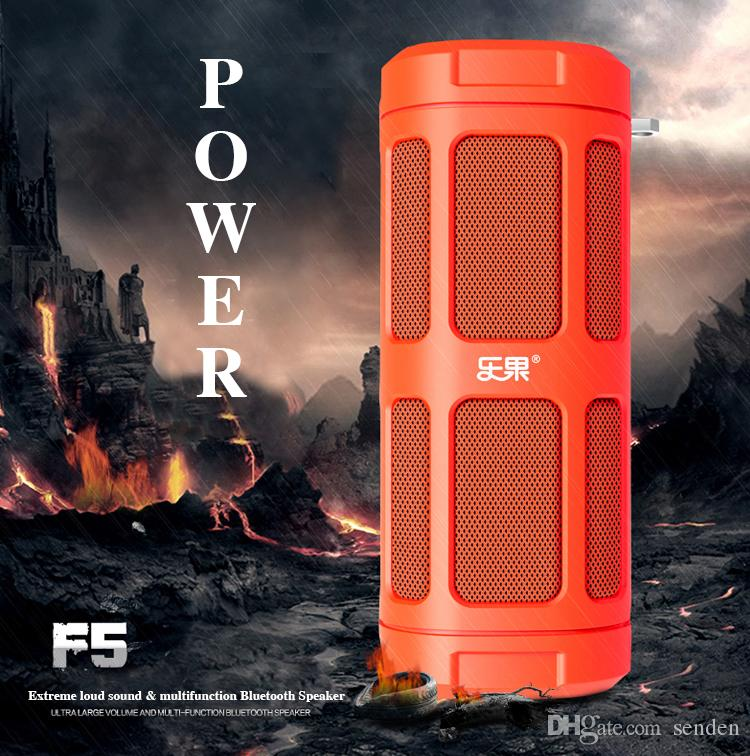 Outdoor Sport F5 Cycling Bluetooth speaker with Power Bank Charge FM Radio bike mount i-Free controller TF card Player Bike riding Subwoofer