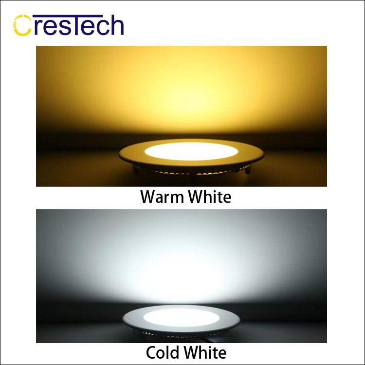 Туалет LED потолочный светильник Silm панель света 3W 6W 9W 12W утопленные типа коммерческие светодиодные лампы