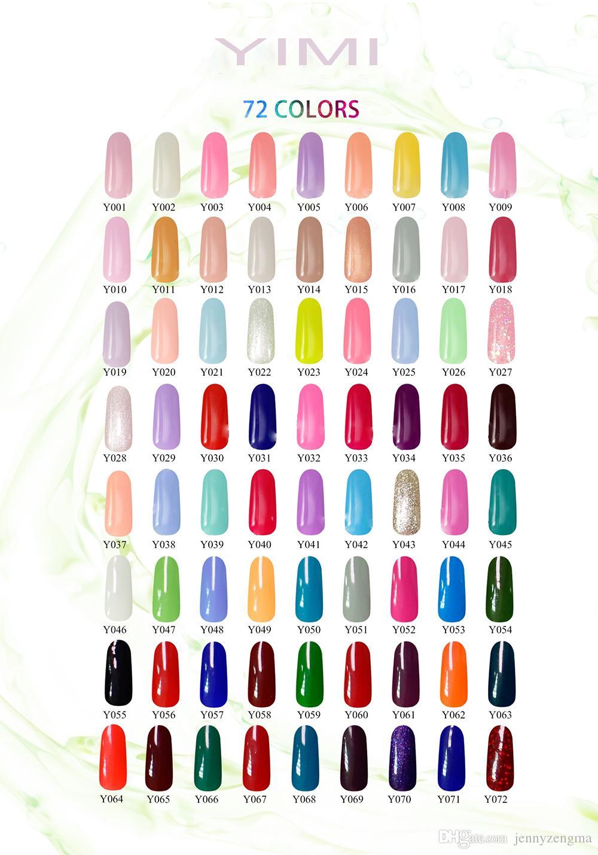 Yimi Nail Gel Color Long Lasting Holo Gel Nail Polish Nail Hologram ...