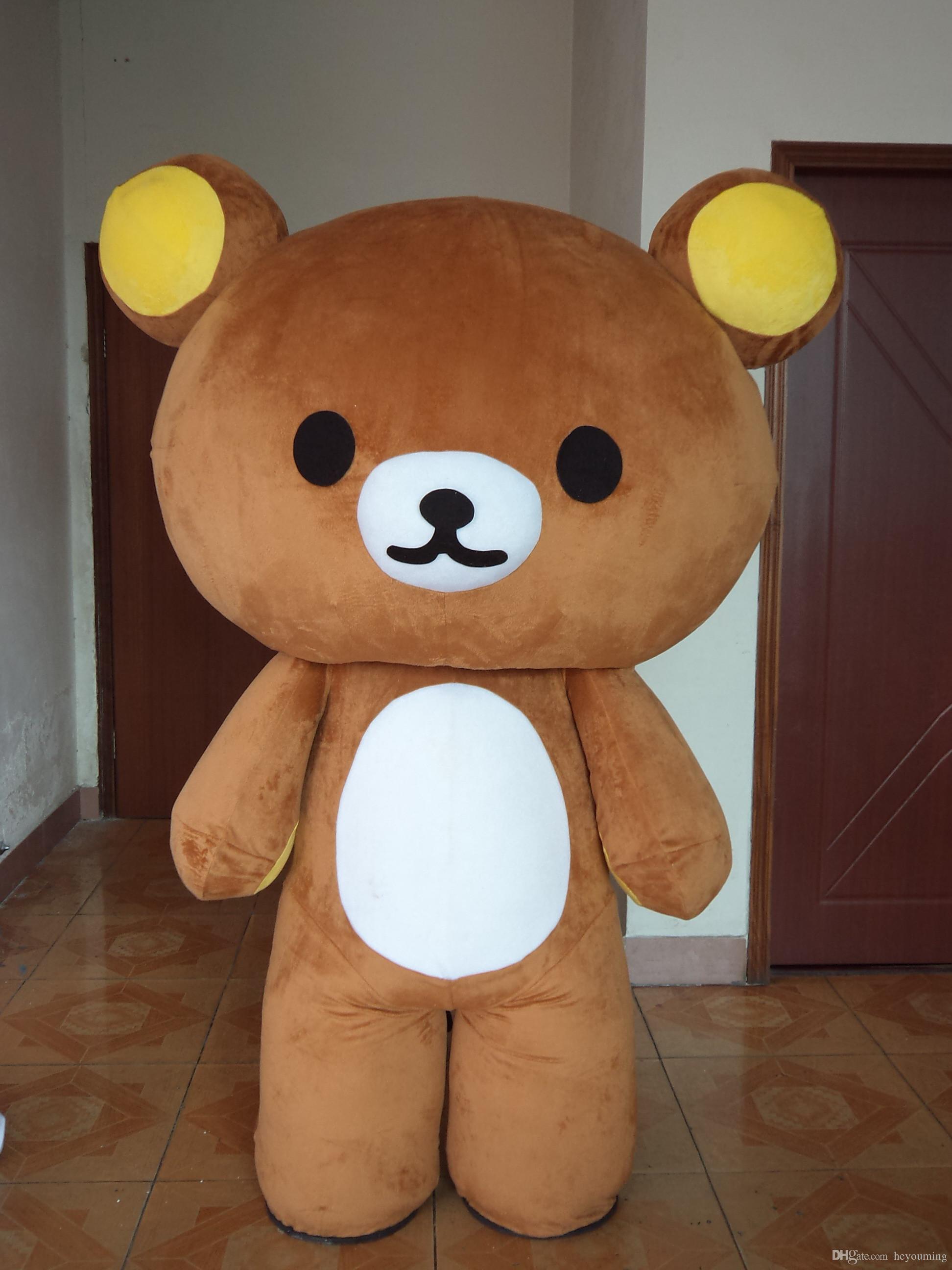 Rilakkuma Mascot Costumes Teddy Bear Costumes Custom Costume Halloween Costumes Children From Heyouming $138.7| Dhgate.Com & Rilakkuma Mascot Costumes Teddy Bear Costumes Custom Costume ...