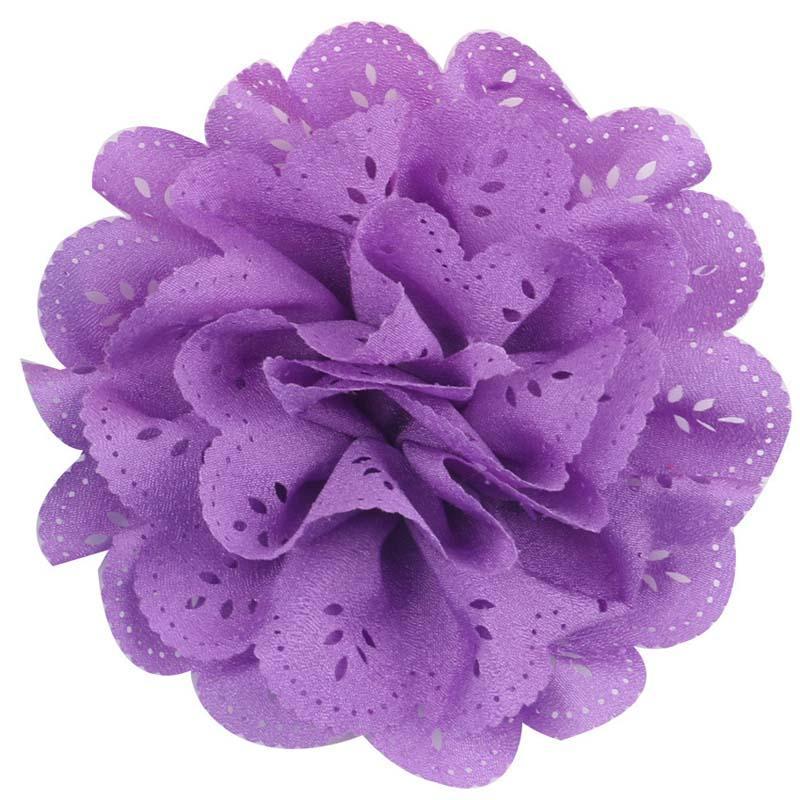 30 Farbe Mädchen rosa Farbe Blume Haarnadeln Haarspangen 7CM Kinder Cartoon Haarschmuck Prinzessin Layered Bow Haarspangen