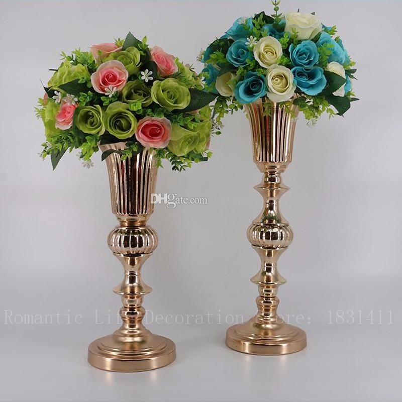 Gold Tabletop Vase Metal Flower Vase Table Centerpiece For Mariage on flower bouquet, flower arrangements, flower painting, flower window, flower sign, flower decoration, flower pot, flower plant, flower decor, flower trash can, flower stand, flower coloring pages, flower container, flower dinnerware set, flower store, flower basket, flower gift, flower crystal, flower punch set, flower tissue box cover,
