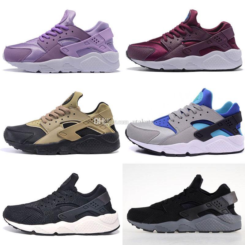 16811411248e9 Hot Sale 2017 New Style Air Huarache 1 Ultra Run Sports Shoes Men Women  Huaraches Running Shoes Trainer Sneakers Shoes Size US5.5 11 Shoe Shops  Running Shoe ...