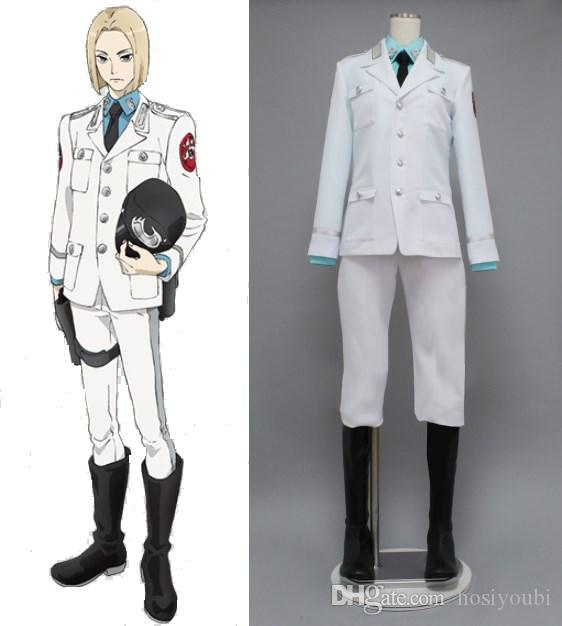 Acca 13 Territory Inspection Dept Rail Cosplay Costumes Kids Cosplay