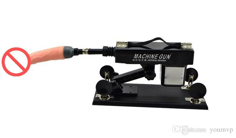 Newest Automatic Adjustable Multifunctional sex machine gun female masturbation sex machine Adult toys DHL Free Ship