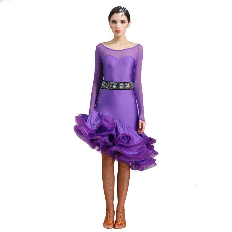 7c9d599e95 lace latin dance costumes for women latino dress dance latin rumba dance  dresses fringe women latin dress tango salsa top skirt