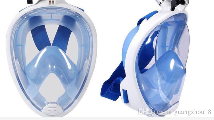 2017 Marque Sous-Marine Plongée Masque Snorkel Set Natation Formation Scuba mergulho masque complet de plongée en apnée Anti Brouillard Pour Caméra bon qual