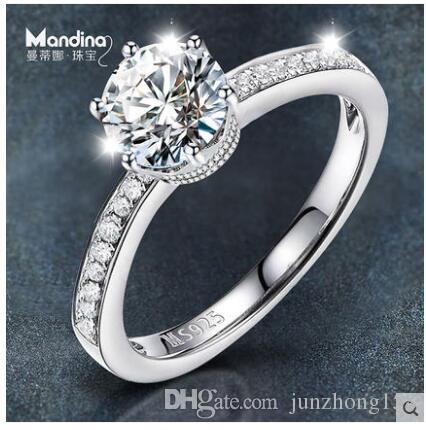 925 Silver Rings Japanese And Korean Wedding Rings Rings For