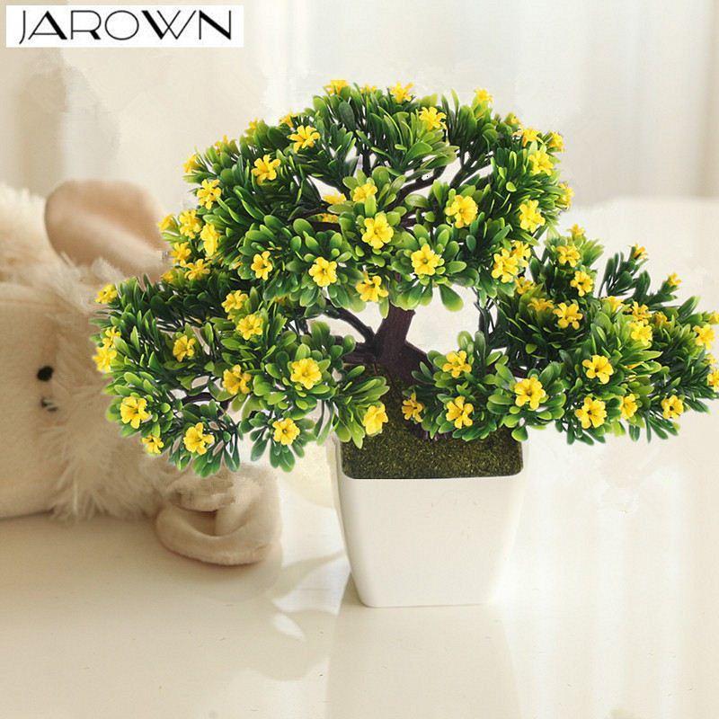 Acheter Plante De Fleur Artificielle En Pot Bonsai Fausse Fleur