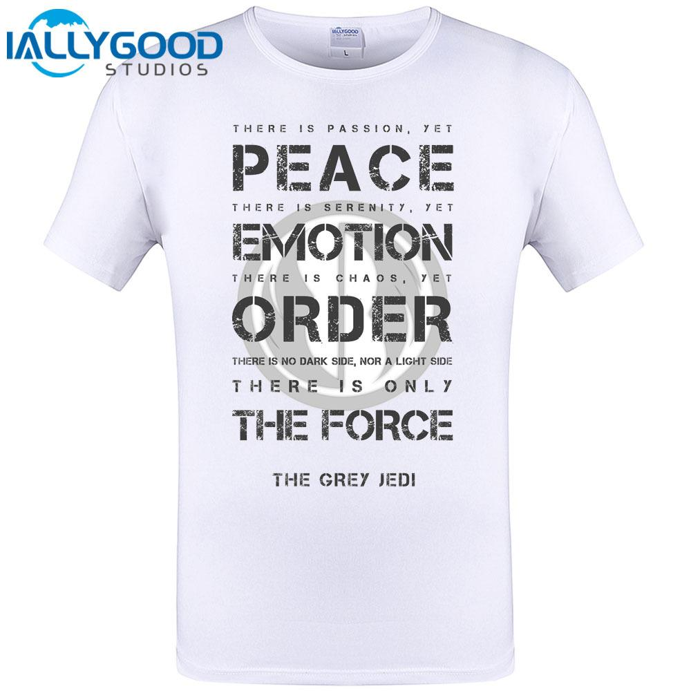 Grey Jedi Code Cool Retro Letter Design Mens T Shirt Summer Hipster Funny  Tops Men Brand Clothing Tee Shirt Plus Size S 6xl Tee Shirt Sites T Shirt 1  From ...