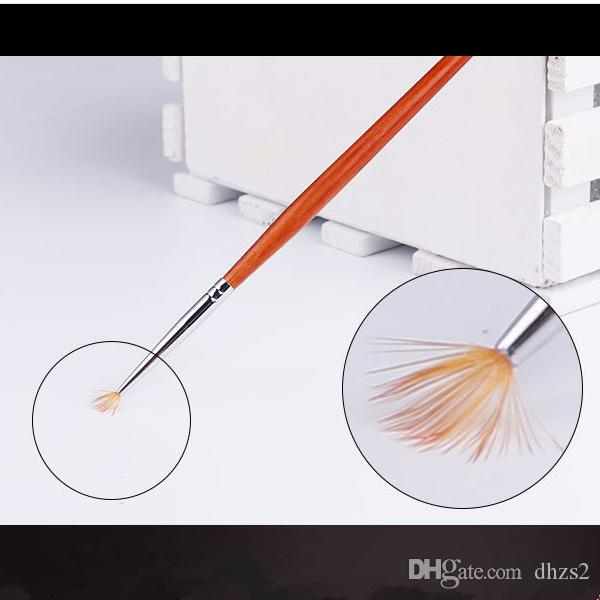 T-06 новое прибытие макияж косметические ногтей рисунок кисти перо вентилятор макияж ногтей инструменты бесплатная доставка!