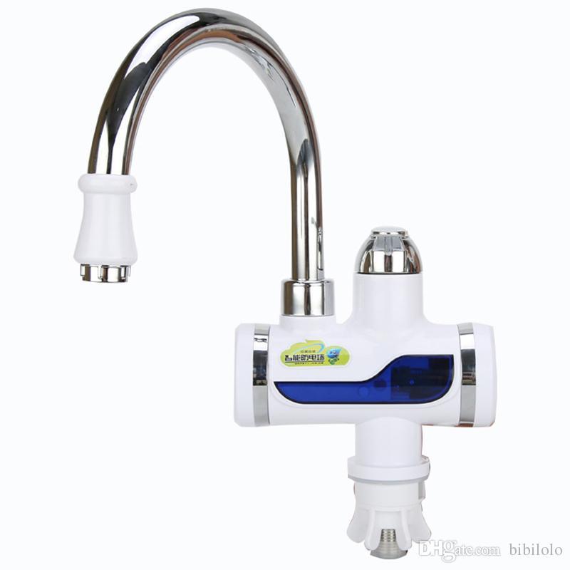 Acheter cuisine electric hot faucet chauffe eau chauffe eau lectrique robinet de cuisine sans - Chauffe eau electrique cuisine ...
