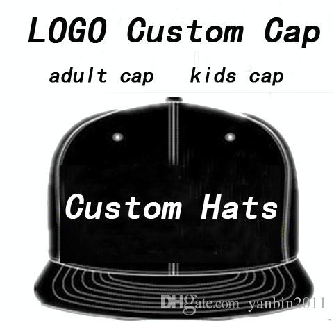 82b76531f6e 2019 LOGO Custom Hat Cap Adult Customized Baseball Caps LOGO Embroidery  Snapback Cap Customized Hats Mens Womens Children Kids Size Wholesale From  ...