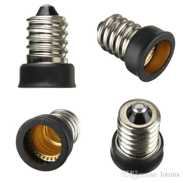Big Promoção E14 para E12 Base de Lâmpada LED Lâmpada Titular Adaptador Extender Conversor de Soquete
