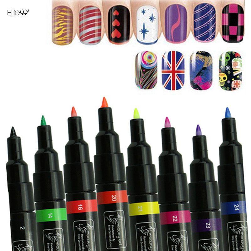 Wholesale Elite99 Nail Art Pen Painting Design Tool Drawing For Uv ...