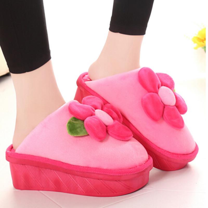 Acheter Gros Hiver Chaud Maison Chaussures Pantoufles Interieur