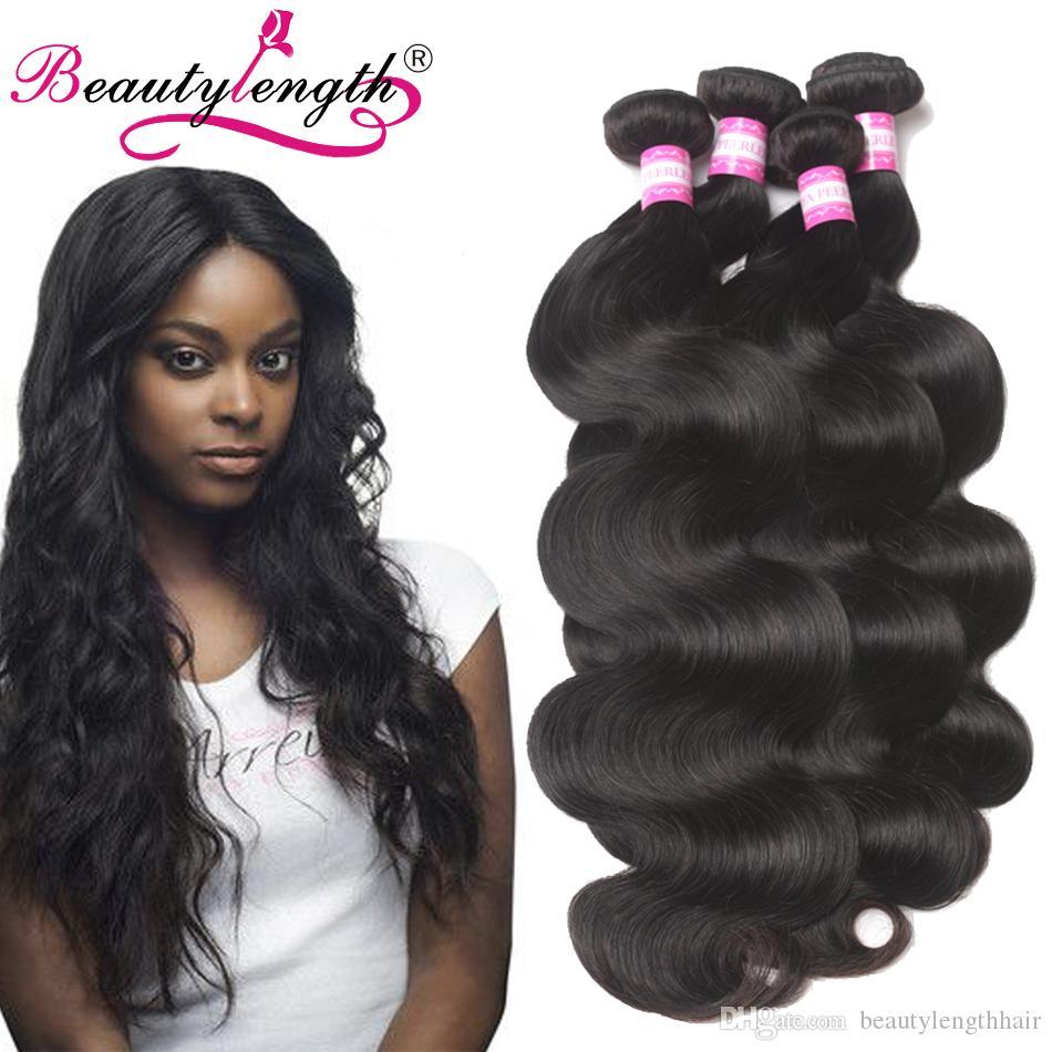 Brazilian Virgin Hair Extension Weft Remy Body Wave Hair Weaves